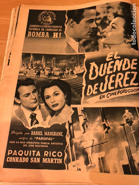 Cine: Revista primer plano octubre 1953.maria asquerino.marilyn monroe moulin rouge ava gardner - Foto 5 - 162935641