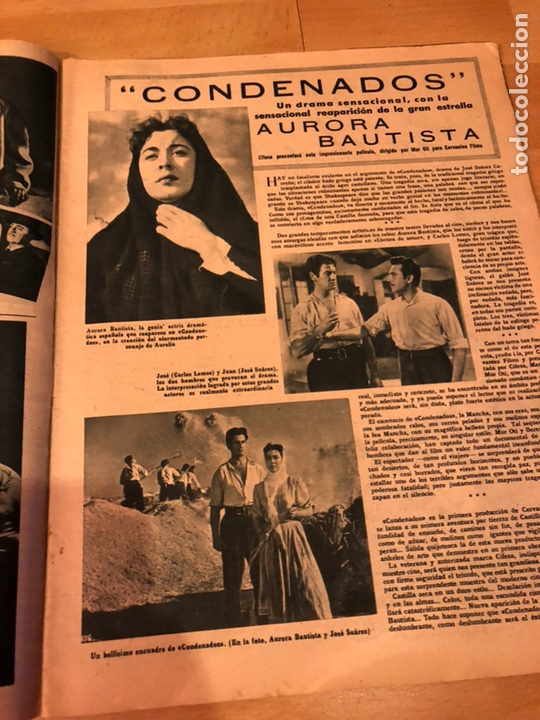 Cine: Revista primer plano octubre 1953.maria asquerino.marilyn monroe moulin rouge ava gardner - Foto 6 - 162935641
