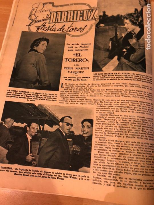 Cine: Revista primer plano octubre 1953.maria asquerino.marilyn monroe moulin rouge ava gardner - Foto 7 - 162935641