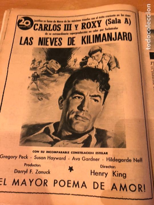 Cine: Revista primer plano octubre 1953.maria asquerino.marilyn monroe moulin rouge ava gardner - Foto 8 - 162935641