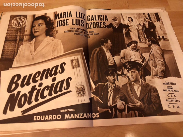 Cine: Revista primer plano octubre 1953.maria asquerino.marilyn monroe moulin rouge ava gardner - Foto 10 - 162935641