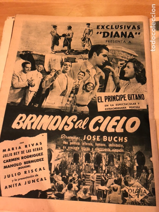 Cine: Revista primer plano octubre 1953.maria asquerino.marilyn monroe moulin rouge ava gardner - Foto 11 - 162935641