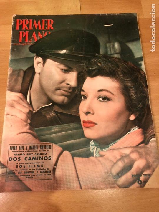 REVISTA PRIMER PLANO OCTUBRE 1953.MARIA ASQUERINO.MARILYN MONROE MOULIN ROUGE AVA GARDNER (Cine - Revistas - Primer plano)