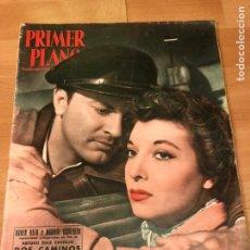 Cine: REVISTA PRIMER PLANO OCTUBRE 1953.MARIA ASQUERINO.MARILYN MONROE MOULIN ROUGE AVA GARDNER. Lote 162935641