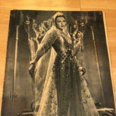 Cine: REVISTA PRIMER PLANO MAYO 1944 PAOLA BARBARA.AMOARO RIVELLES IQUINO. Lote 162938050
