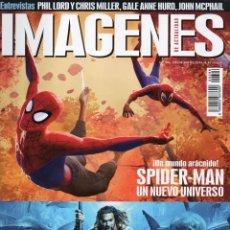 Cine: IMAGENES DE ACTUALIDAD N. 396 DICIEMBRE 2018 - EN PORTADA: SPIDER-MAN / AQUAMAN (NUEVA). Lote 218003570