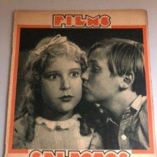 Cinema: REVISTA FILMS SELECTOS MAYO 1931 JACKIE COOGAN TON SAWYER.LA PANDILLA.DOUGLAS FAIRBANKS GRETA GARBO. Lote 163080529