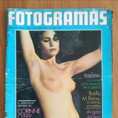 Cine: FOTOGRAMAS N° 1459 1976 ANGELA MOLINA, PAULA PATTIER, CORINNE CLERY, CLINT EASTWOOD. Lote 163347194