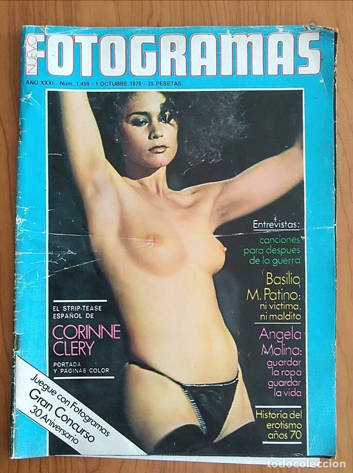 FOTOGRAMAS N° 1459 1976 ANGELA MOLINA, PAULA PATTIER, CORINNE CLERY, CLINT EASTWOOD (Cine - Revistas - Fotogramas)