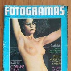 Cine: FOTOGRAMAS N° 1459 1976 ANGELA MOLINA, PAULA PATTIER, CORINNE CLERY, CLINT EASTWOOD. Lote 163347318