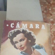 Cinéma: REVISTA CINE CAMARA SIGNE HASSO. Lote 163514418