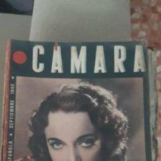 Cine: REVISTA DE CINE CAMARA SEPTIEMBRE 1942. Lote 163514570