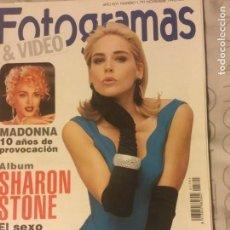 Cine: FOTOGRAMAS DE PLATA + Nº 1792 (SHARON STONE). Lote 151592782