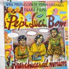Cine: PEPI LUCI BOM Y OTRAS CHICAS DEL MONTON. Lote 193867953