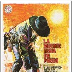 Cine: LA MUERTE TENIA UN PRECIO. Lote 206559592