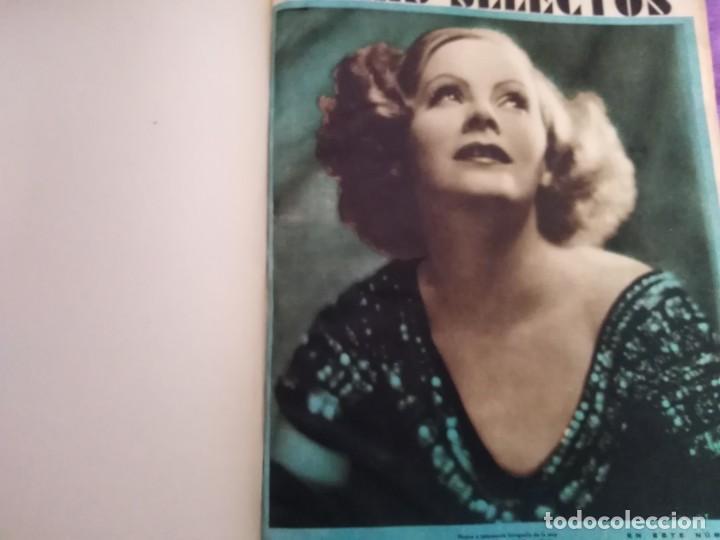 TOMO ENCUADERNADO FILMS SELECTOS AÑO II N 27 18 DE ABRIL DE 1931 AL N 51 3 DE OCTUBRE DE 1931 (Cine - Revistas - Films selectos)