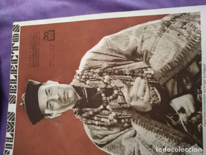 Cine: TOMO ENCUADERNADO FILMS SELECTOS AÑO II N 27 18 DE ABRIL DE 1931 AL N 51 3 DE OCTUBRE DE 1931 - Foto 3 - 163601510