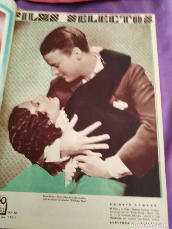 Cine: TOMO ENCUADERNADO FILMS SELECTOS AÑO II N 27 18 DE ABRIL DE 1931 AL N 51 3 DE OCTUBRE DE 1931 - Foto 10 - 163601510