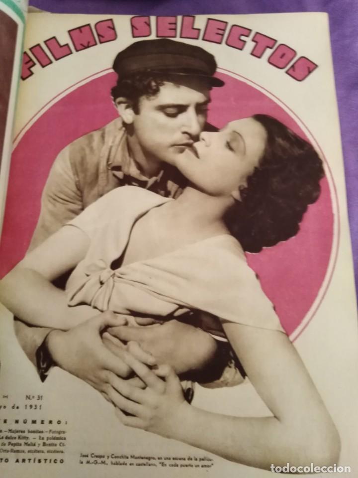 Cine: TOMO ENCUADERNADO FILMS SELECTOS AÑO II N 27 18 DE ABRIL DE 1931 AL N 51 3 DE OCTUBRE DE 1931 - Foto 11 - 163601510