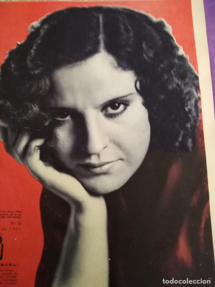 Cine: TOMO ENCUADERNADO FILMS SELECTOS AÑO II N 27 18 DE ABRIL DE 1931 AL N 51 3 DE OCTUBRE DE 1931 - Foto 14 - 163601510