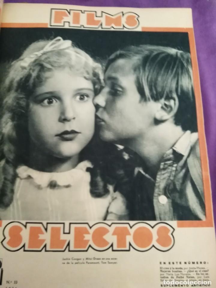 Cine: TOMO ENCUADERNADO FILMS SELECTOS AÑO II N 27 18 DE ABRIL DE 1931 AL N 51 3 DE OCTUBRE DE 1931 - Foto 17 - 163601510
