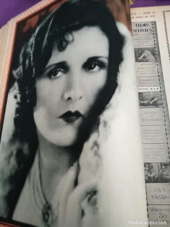 Cine: TOMO ENCUADERNADO FILMS SELECTOS AÑO II N 27 18 DE ABRIL DE 1931 AL N 51 3 DE OCTUBRE DE 1931 - Foto 18 - 163601510