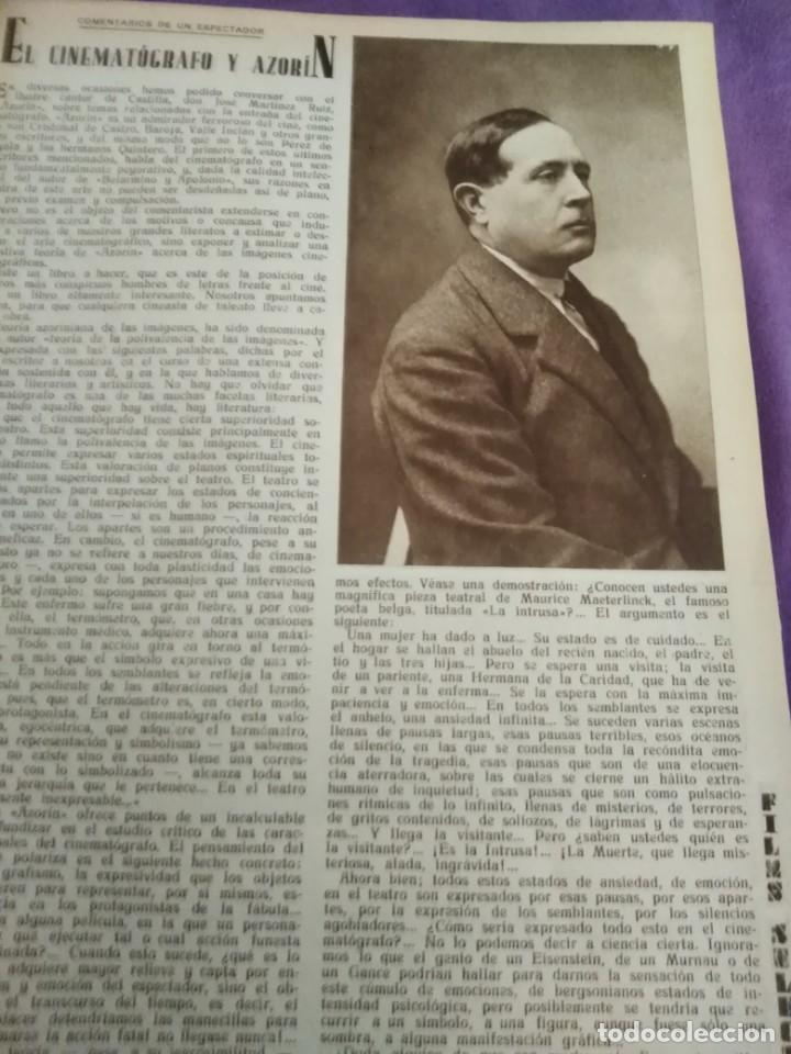 Cine: TOMO ENCUADERNADO FILMS SELECTOS AÑO II N 27 18 DE ABRIL DE 1931 AL N 51 3 DE OCTUBRE DE 1931 - Foto 19 - 163601510
