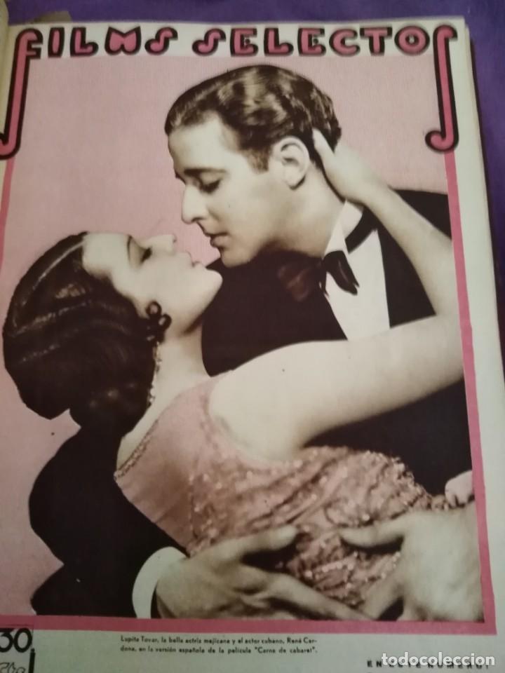 Cine: TOMO ENCUADERNADO FILMS SELECTOS AÑO II N 27 18 DE ABRIL DE 1931 AL N 51 3 DE OCTUBRE DE 1931 - Foto 26 - 163601510