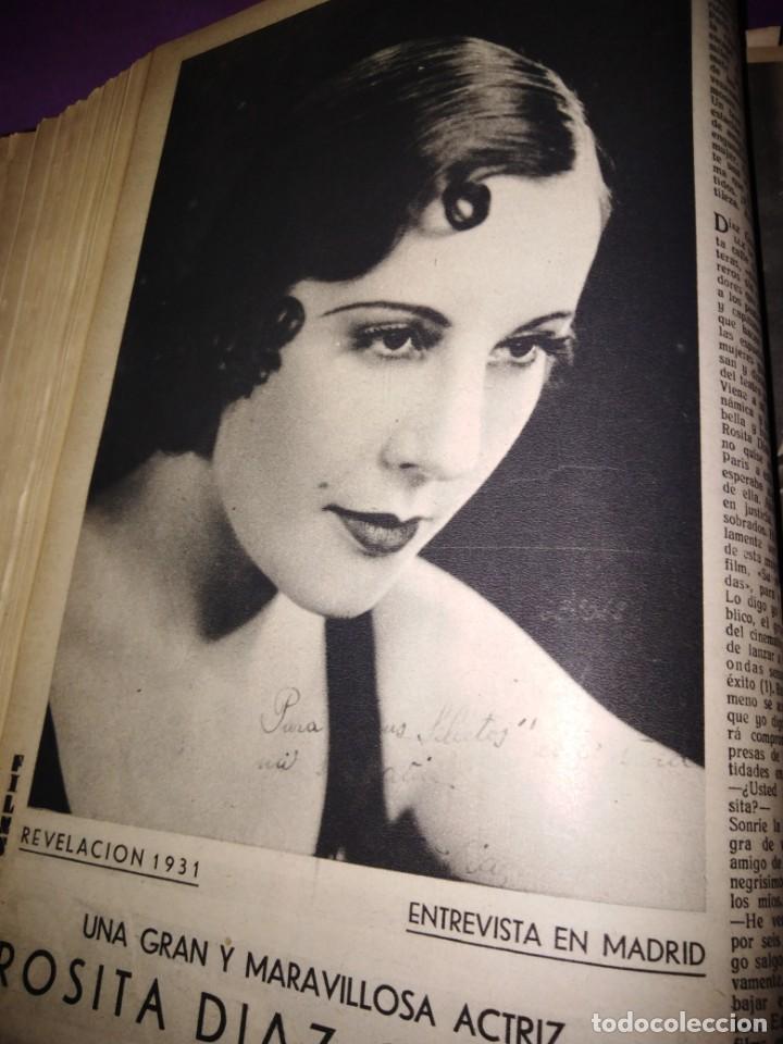 Cine: TOMO ENCUADERNADO FILMS SELECTOS AÑO II N 27 18 DE ABRIL DE 1931 AL N 51 3 DE OCTUBRE DE 1931 - Foto 27 - 163601510