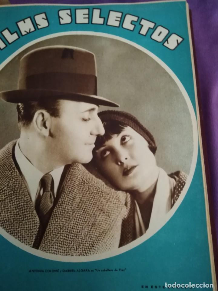 Cine: TOMO ENCUADERNADO FILMS SELECTOS AÑO II N 27 18 DE ABRIL DE 1931 AL N 51 3 DE OCTUBRE DE 1931 - Foto 29 - 163601510