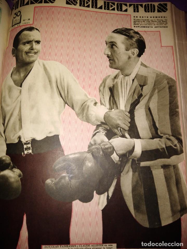 Cine: TOMO ENCUADERNADO FILMS SELECTOS AÑO II N 27 18 DE ABRIL DE 1931 AL N 51 3 DE OCTUBRE DE 1931 - Foto 32 - 163601510