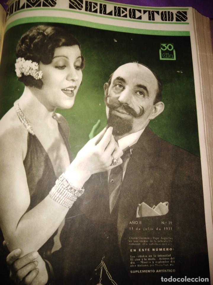 Cine: TOMO ENCUADERNADO FILMS SELECTOS AÑO II N 27 18 DE ABRIL DE 1931 AL N 51 3 DE OCTUBRE DE 1931 - Foto 34 - 163601510