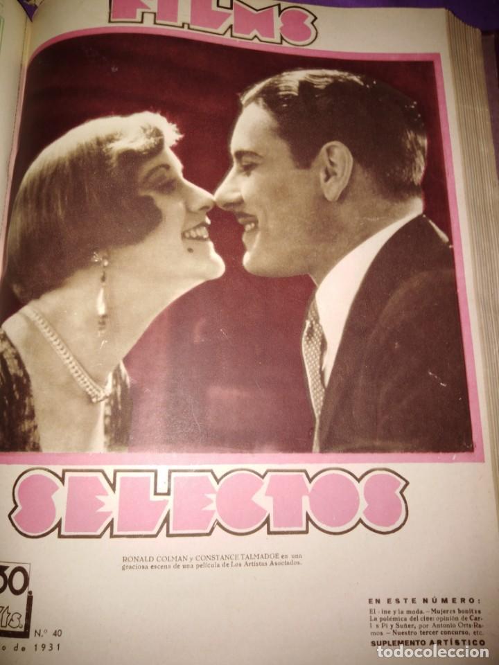 Cine: TOMO ENCUADERNADO FILMS SELECTOS AÑO II N 27 18 DE ABRIL DE 1931 AL N 51 3 DE OCTUBRE DE 1931 - Foto 35 - 163601510