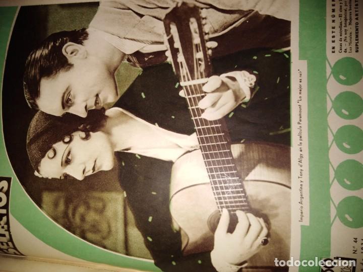 Cine: TOMO ENCUADERNADO FILMS SELECTOS AÑO II N 27 18 DE ABRIL DE 1931 AL N 51 3 DE OCTUBRE DE 1931 - Foto 40 - 163601510