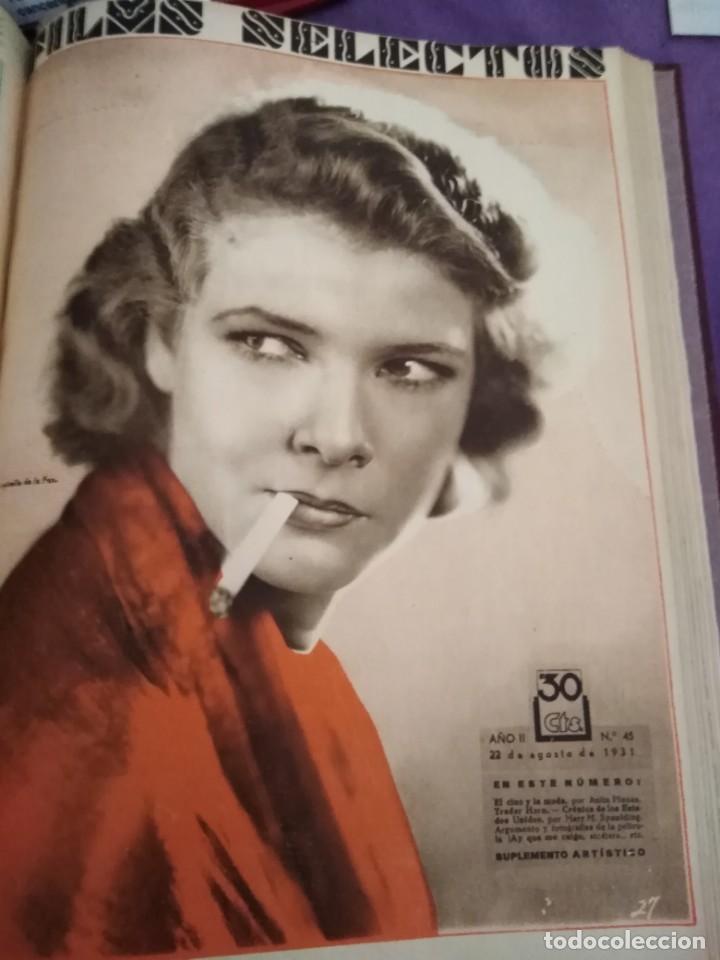 Cine: TOMO ENCUADERNADO FILMS SELECTOS AÑO II N 27 18 DE ABRIL DE 1931 AL N 51 3 DE OCTUBRE DE 1931 - Foto 42 - 163601510