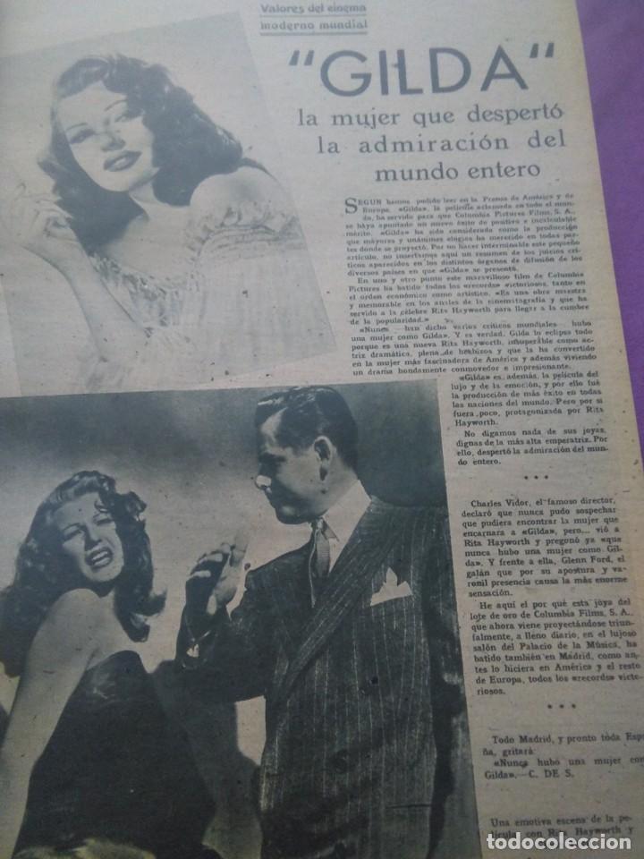 Cine: PRIMER PLANO EN DOS TOMOS 1948 AÑO COMPLETO - Foto 5 - 163900774