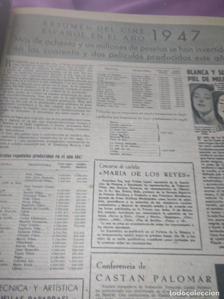 Cine: PRIMER PLANO EN DOS TOMOS 1948 AÑO COMPLETO - Foto 14 - 163900774