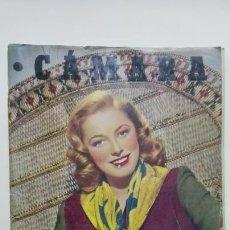 Cine: ANTIGUA REVISTA CAMARA, Nº 156, JULIO 1949, PORTADA ELEANOR PARKER. Lote 164005006