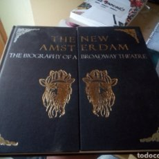 Cine: LIBRO SOBRE TEATRO THE NEW ANSTERDAM BIOGAPHY OF A BROADWAY THEATRE, EN INGLES. Lote 164042302