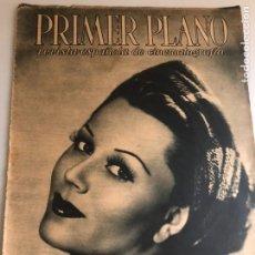 Cine: REVISTA PRIMER PLANO ABRIL 1943 PAOLA BARBARA.JOSE BUCHS JULIO PEÑA ANTONIO CASAL. Lote 164703504