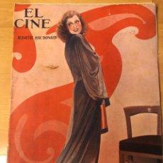 Cine: REVISTA EL CINE ABRIL 1932 JEANETTE MACDONALD LILIAN HARVEY GRETA GARBO CLIVE BROOK. Lote 164747297