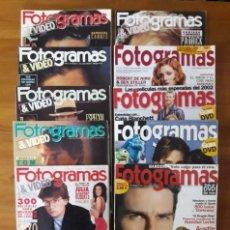 Cine: FOTOGRAMAS DECADA DE LOS 90 (1990 AL 2003) NÚMEROS SUELTOS.. Lote 164799678