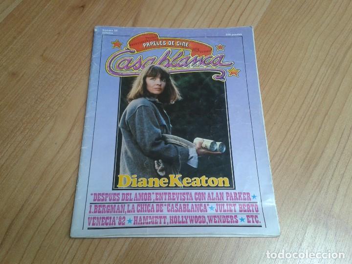 PAPELES DE CINE -- Nº 22 -- OCTUBRE 1981 - CASABLANCA, ALAN PARKER, WIN WENDERS, HAMMETT, BERTOLUCCI (Cine - Revistas - Papeles de cine)