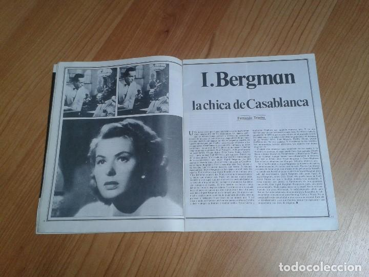 Cine: Papeles de Cine -- nº 22 -- Octubre 1981 - Casablanca, Alan Parker, Win Wenders, Hammett, Bertolucci - Foto 7 - 164811938