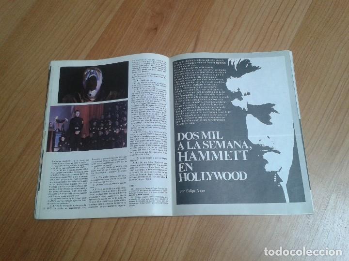 Cine: Papeles de Cine -- nº 22 -- Octubre 1981 - Casablanca, Alan Parker, Win Wenders, Hammett, Bertolucci - Foto 11 - 164811938