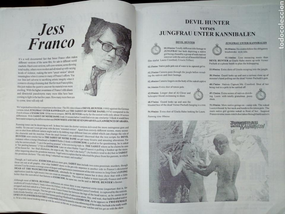 Cine: Fanzine - SLEAZORAMA Nº 1 - Editado en USA en 1993 - Explotation Cinema, Jess Franco, Caged Women... - Foto 2 - 164964398