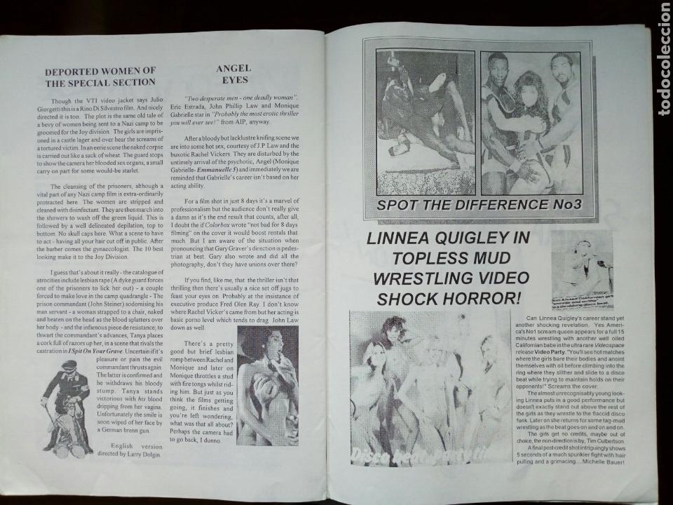 Cine: Fanzine - SLEAZORAMA Nº 1 - Editado en USA en 1993 - Explotation Cinema, Jess Franco, Caged Women... - Foto 7 - 164964398