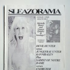 Cine: FANZINE - SLEAZORAMA Nº 1 - EDITADO EN USA EN 1993 - EXPLOTATION CINEMA, JESS FRANCO, CAGED WOMEN.... Lote 164964398