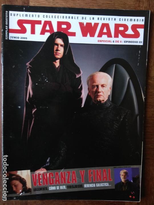 CINEMANIA SUPLEMENTO ESPECIAL STAR WARS III: LA VENGANZA DE LOS SITH - (Cine - Revistas - Cinemanía)