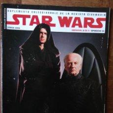 Cine: CINEMANIA SUPLEMENTO ESPECIAL STAR WARS III: LA VENGANZA DE LOS SITH -. Lote 165155978